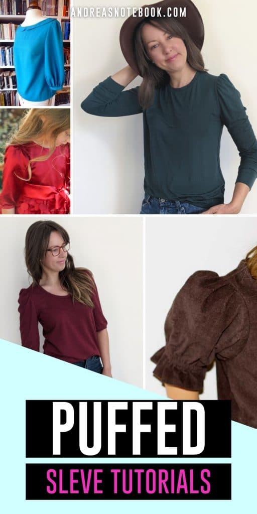 4 people wearing puffed sleeves