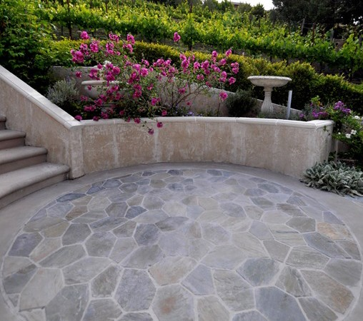 DIY tile patio