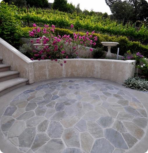 DIY tile patio