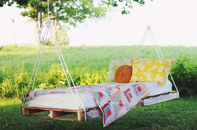 DIY pallet swing tutorial
