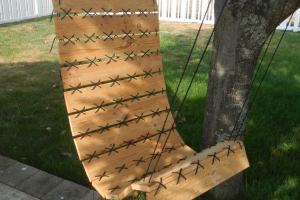 You can make a pallet swing!