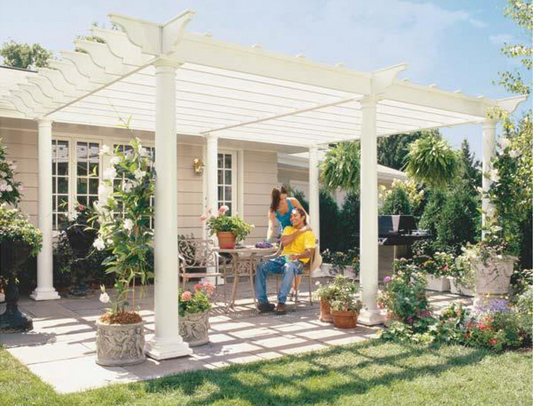 Build your own DIY pergola