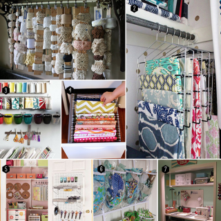 Small Sewing Space Tip #3: Think Outside the Box