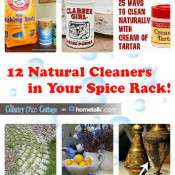 12 natural cleaners