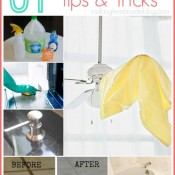 31 Spring cleaning tips & tricks