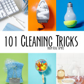 101 cleaning tricks