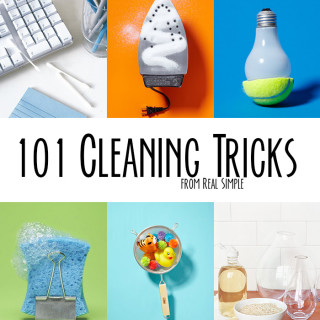 101 surprising cleaning tricks