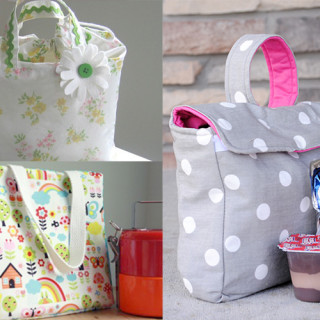 12+ Lunch Bag Tutorials
