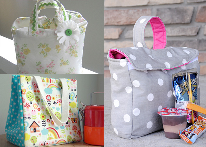 12 Lunch Bag Tutorials