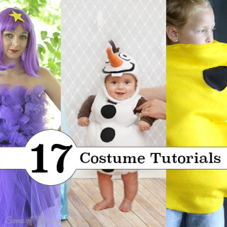 DIY Halloween Costume Tutorials