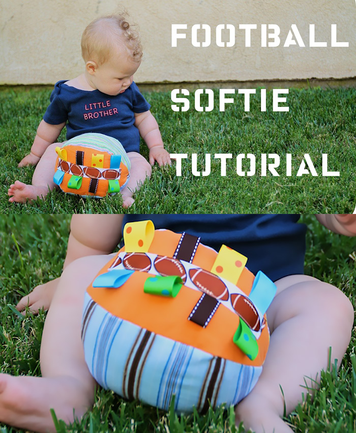 Football softie tutorial