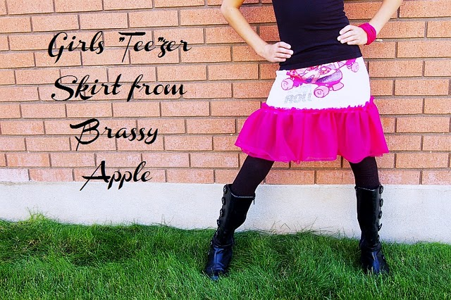 T-shirt to skirt refashion tutorial