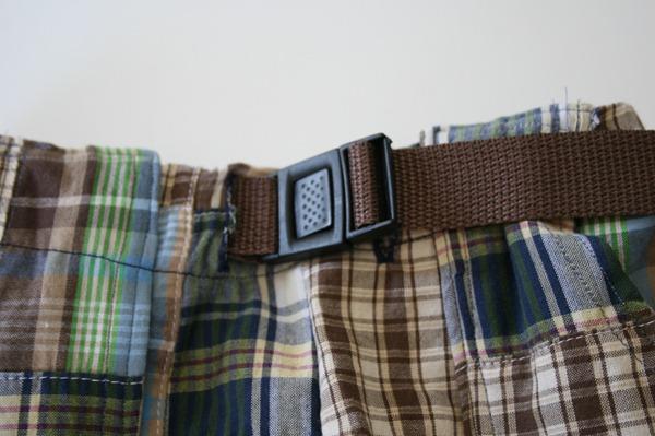 DIY buckle waistband