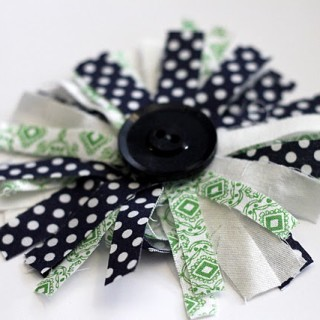 Girls' Fabric Corsage