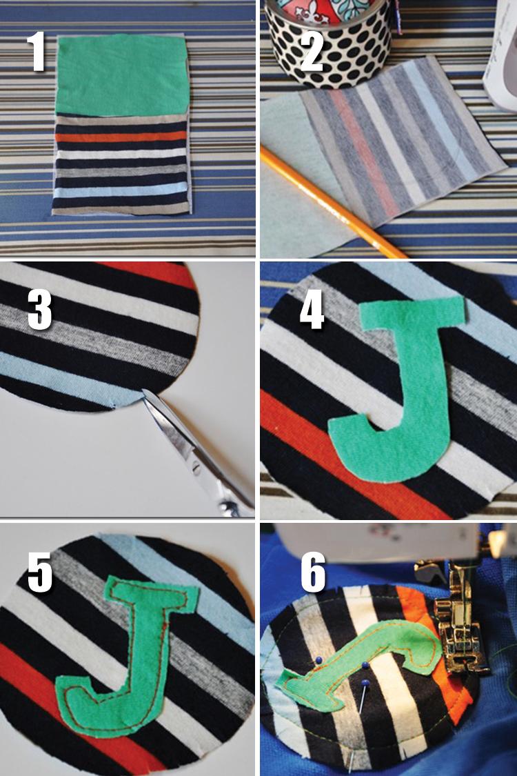 DIY polo shirt embellishment