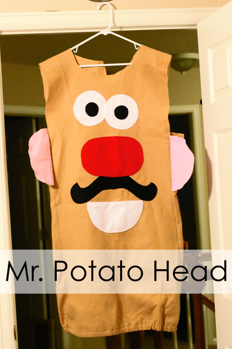 Potato Head costume