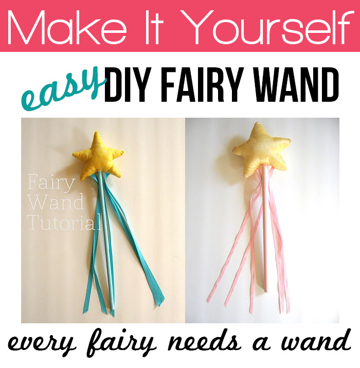 Make an easy fairy wand #tutorial