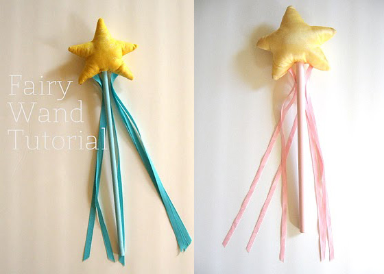 Make a fairy wand! Great tutorial