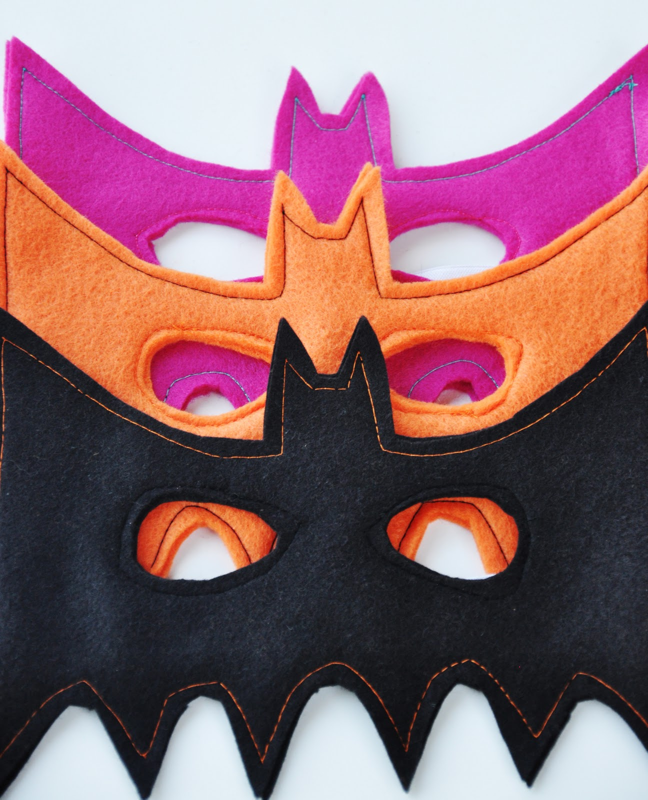 Bat mask tutorial