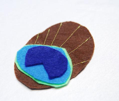 Make a peacock tutu!