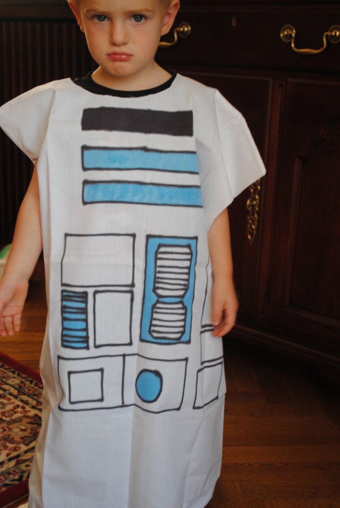 R2d2 Costume Diy DIY Pillowcase R2D2 Co...