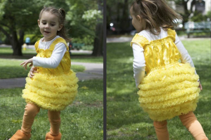 How to make a duckling costume
