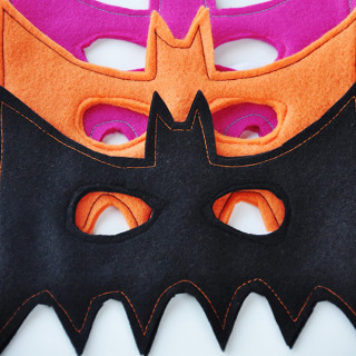 DIY Bat Mask Tutorial
