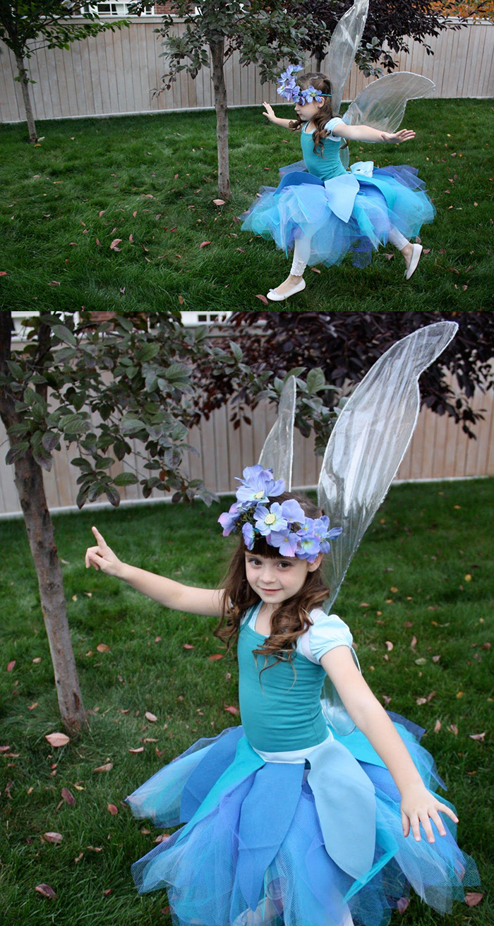 Make your own fairy wings tutorial