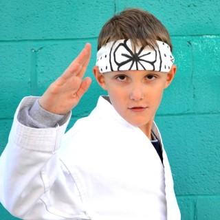 DIY Karate Kid Headband (hachimaki) Tutorial