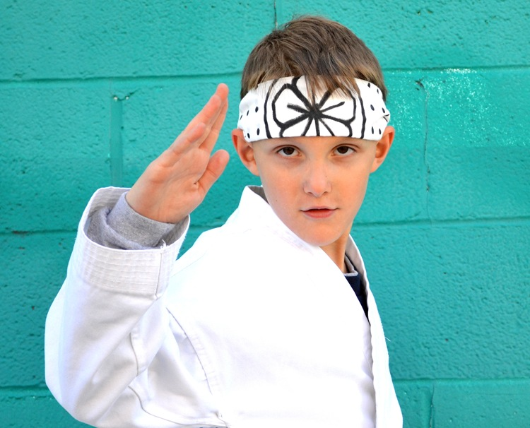 Diy Karate Kid Headband Hachimaki Tutorial Andrea S