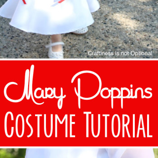 DIY Mary Poppins Costume Tutorial