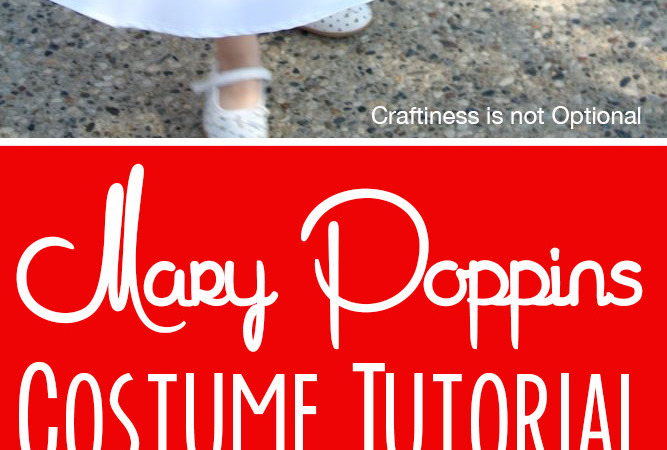 Make a Mary Poppins dress! tutorial by CINO