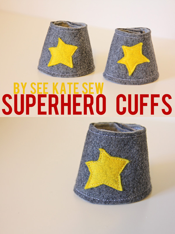 Superhero Cuffs tutorial