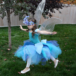 DIY No Sew Iridescent Fairy Wings Tutorial
