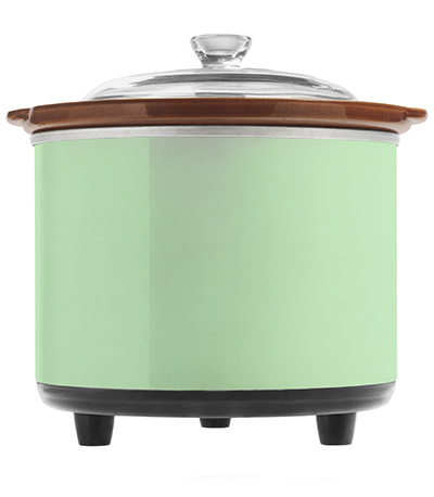how to clean hinges in crock pot