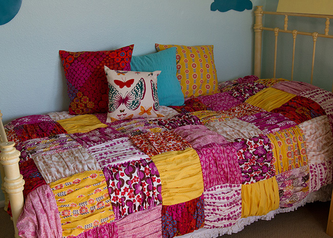 Adorable Gathered Duvet Tutorial
