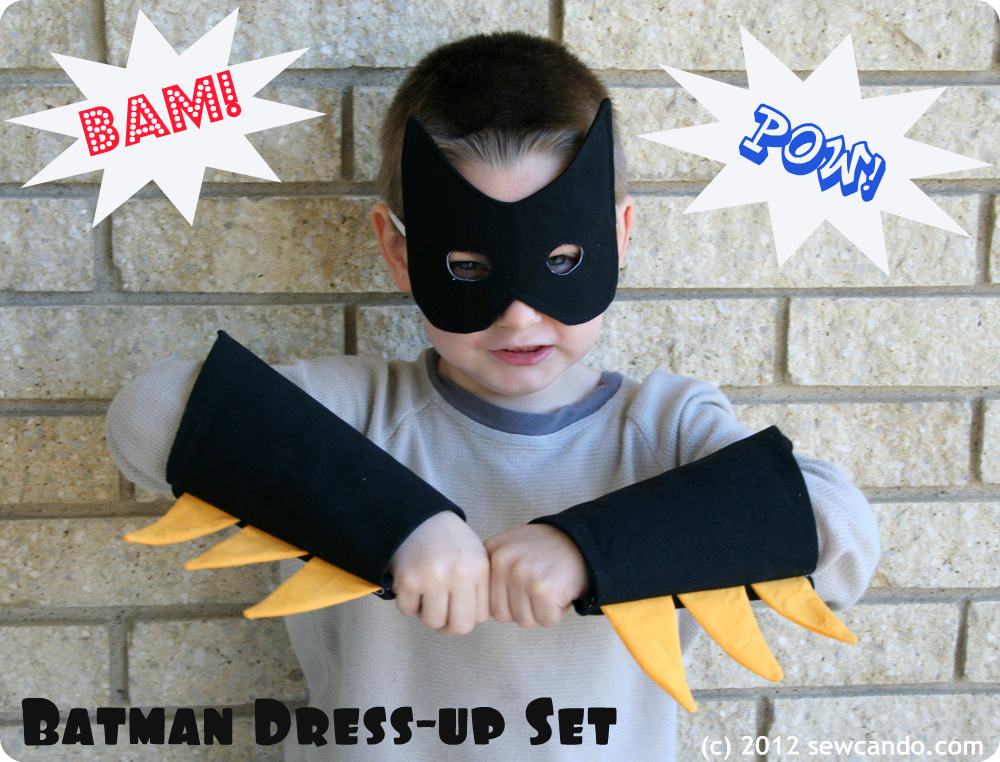 Batman cuff tutorial