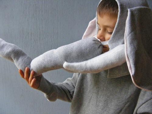 Diy Elephant Costume Tutorial Includes Tusks Andrea S