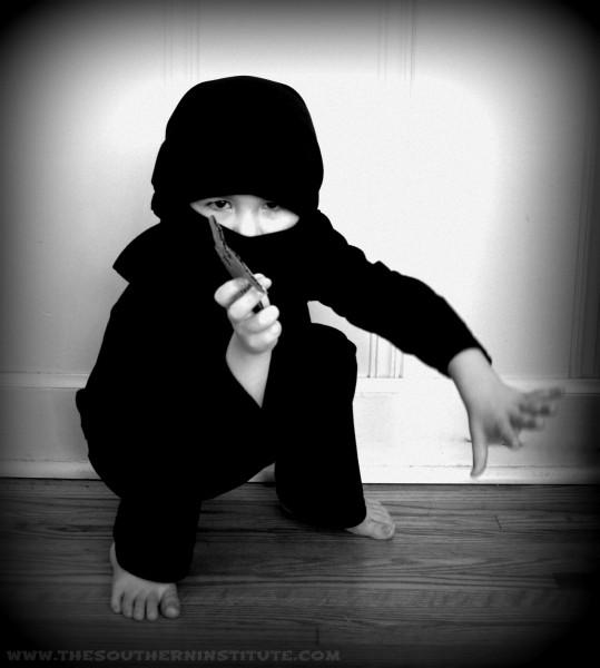 Ninja costume tutorial