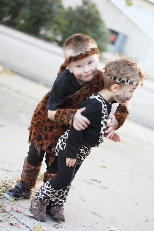 caveman costume tutorial