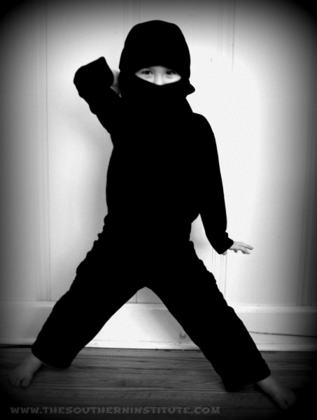 Ninja costume tutorial