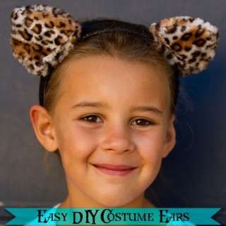 Handmade Costume Series: DIY Animal Ears Tutorial