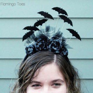 "Handmade Costume Series: DIY ""Going Batty"" Headband Tutorial"