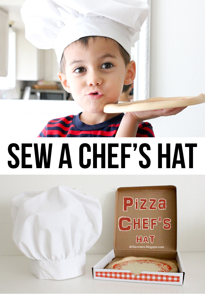 Sew a chef's hat tutorial