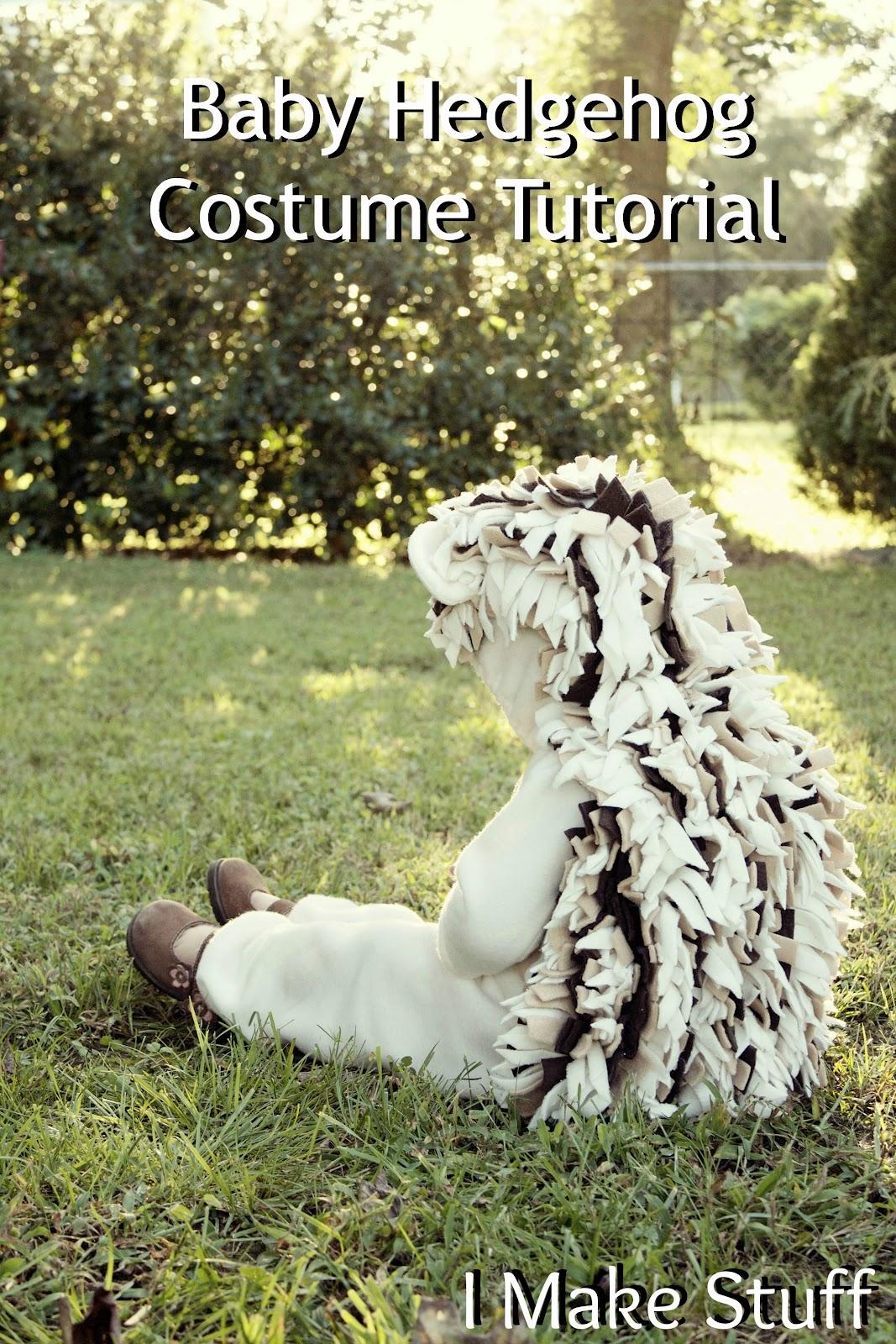 Hedgehog Costume Tutorial