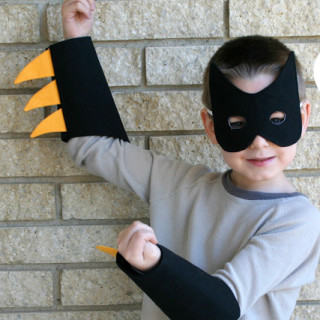 DIY Batman Costume Tutorial