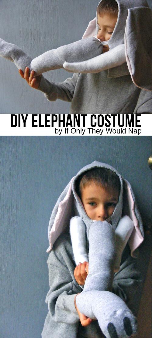 Elephant costume tutorial