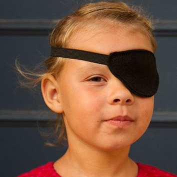 Pirate eye patch tutorial