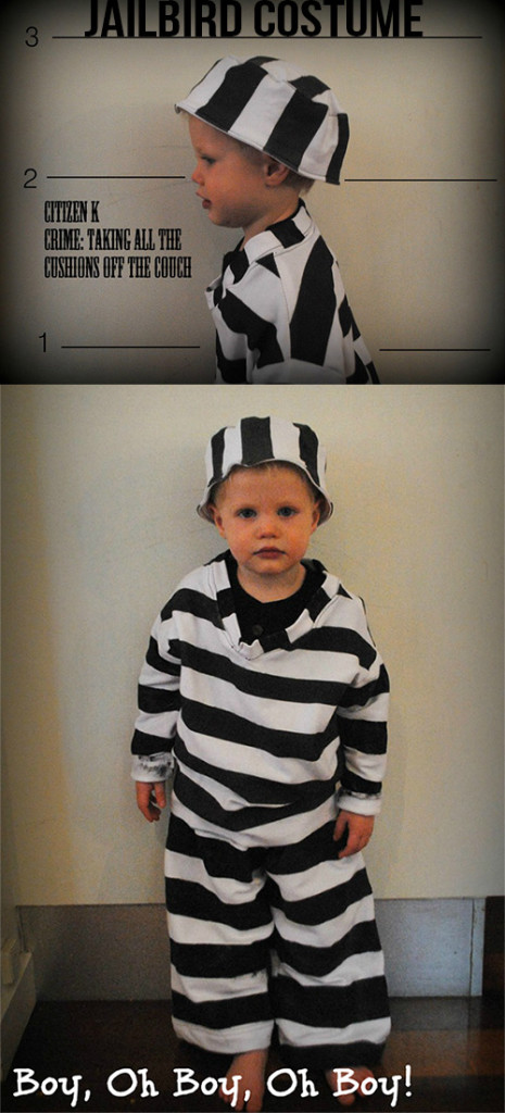 How to sew a Jailbird Costume
