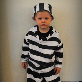 DIY Jailbird Costume Tutorial